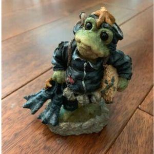 1998 Boyds Bears & Friends Folkstone Scuba Frog